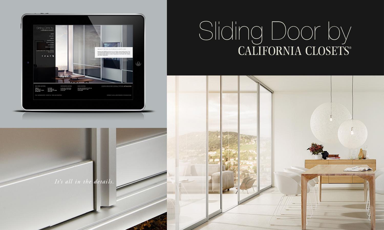 sliding door by california closet - California Closet